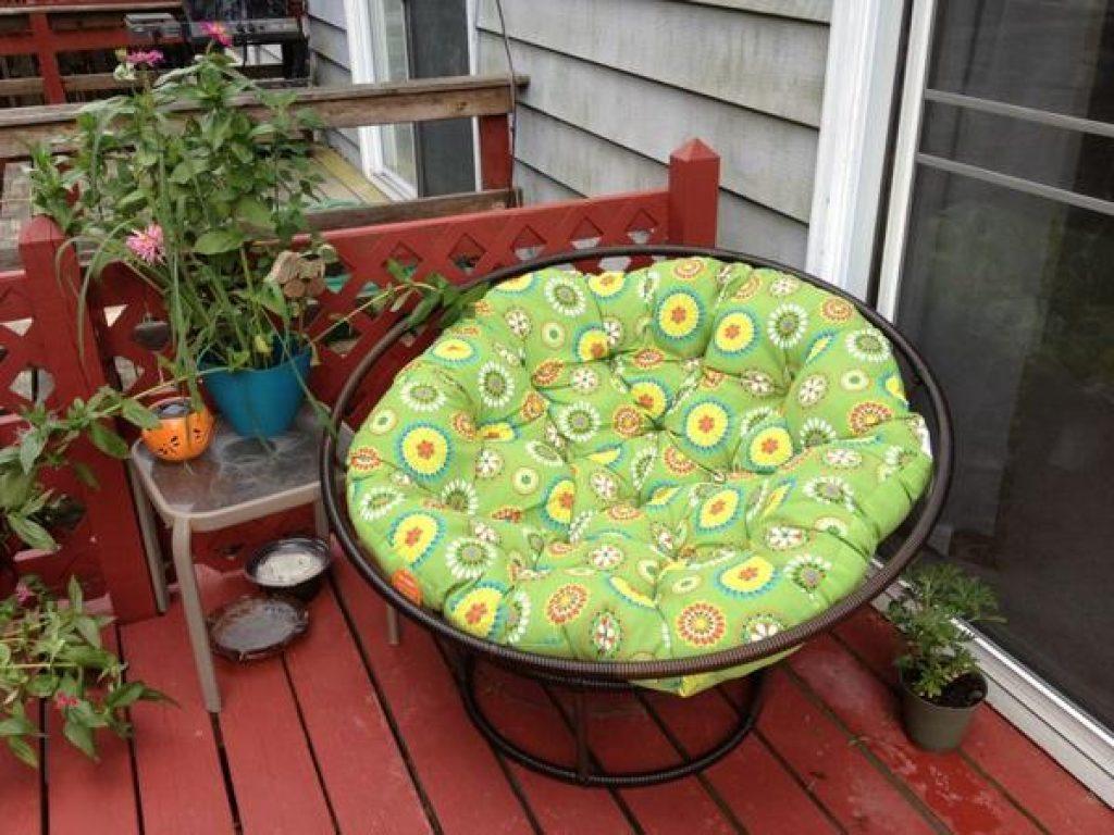 Green Papasan cushion ideas