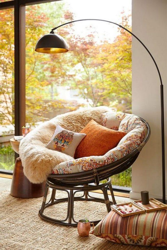 balcony Papasan Cushion idea