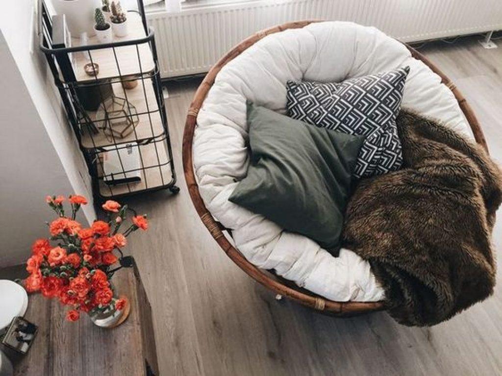 bedroom Papasan Cushion idea