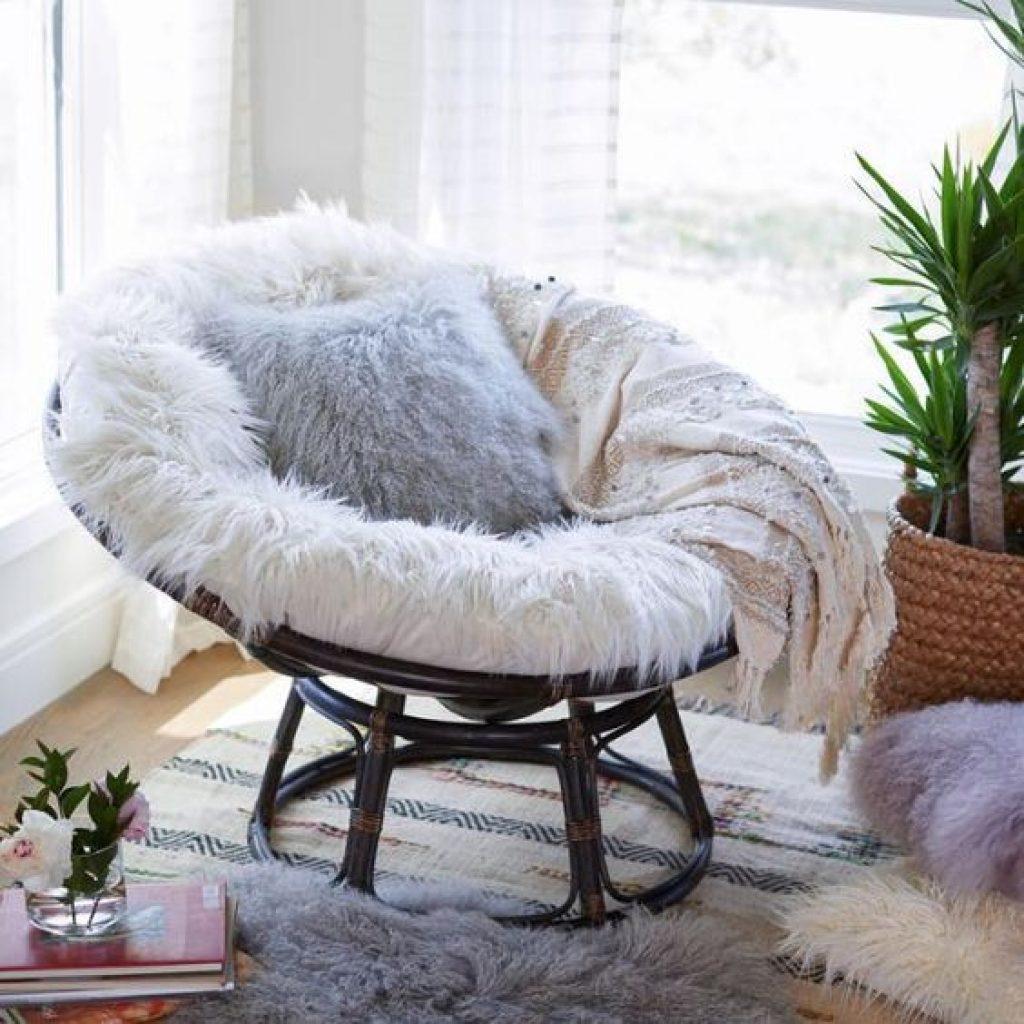 fur Papasan Cushion ideas