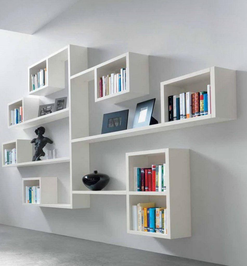 Bedside Book Floating Shelf