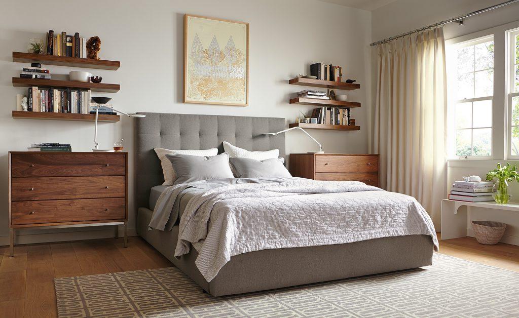 Floating Shelves ideas for bedroom