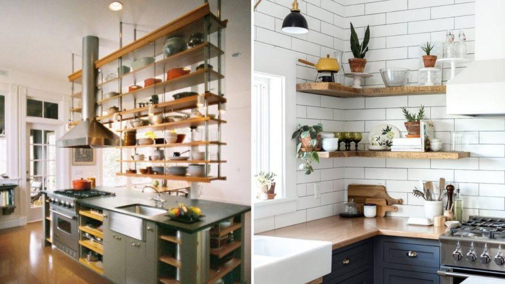Floating Shelves ideas for kitchen