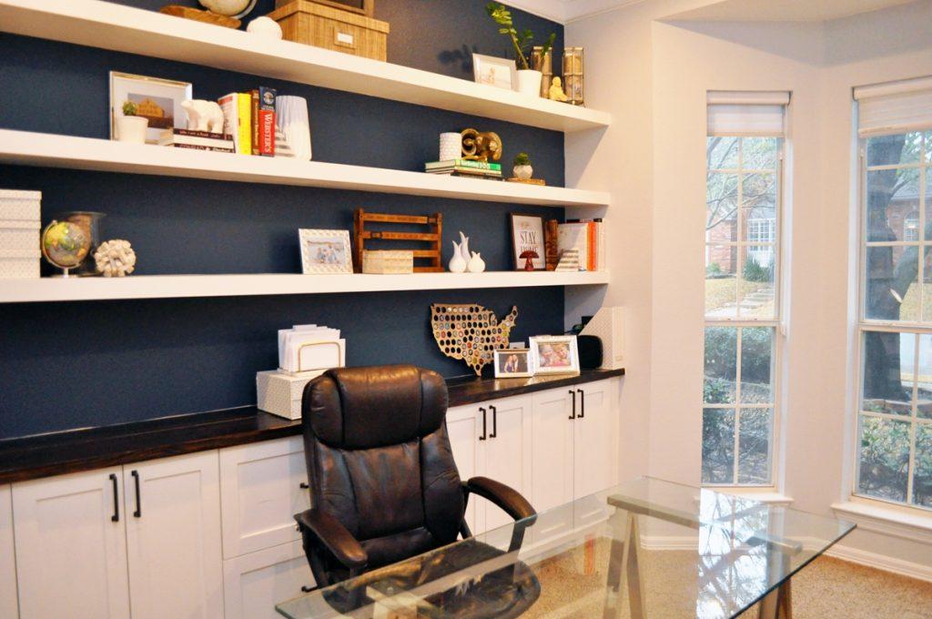 Floating Shelves ideas for office