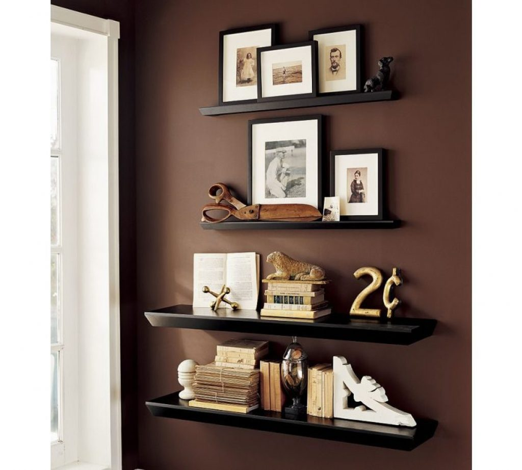 Floating shelves for wall ideas
