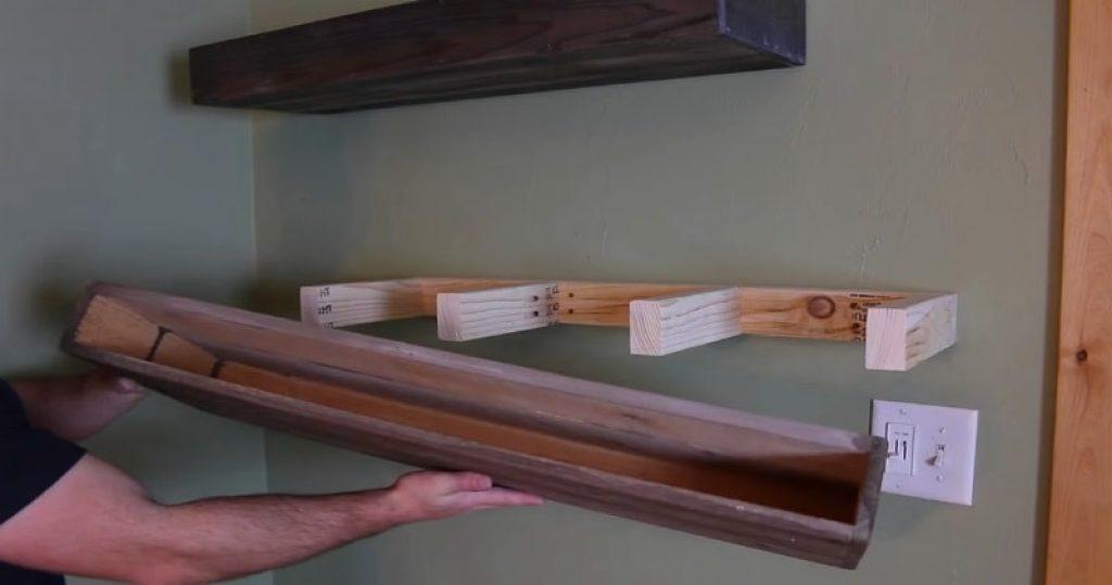 How to Make DIY Floating Shelves