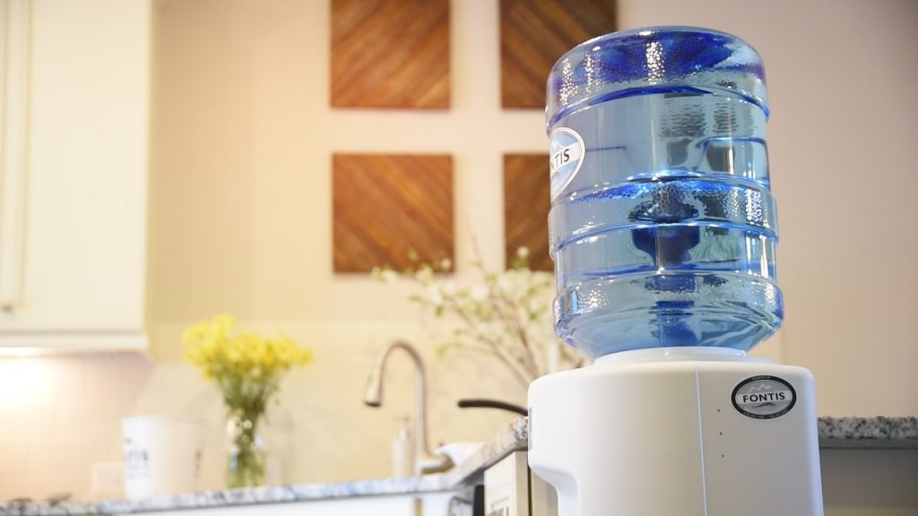 how to clean a water cooler at home